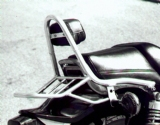 V-Max 1200 incl padded backrest - upto 2008 - chrome